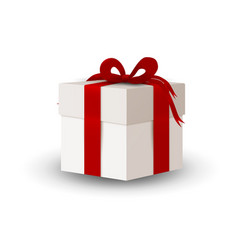 christmas or any celebrations presents with ribbon vector image