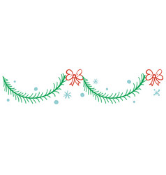 christmas pattern texture vector image