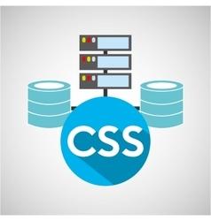 Css language data base storage vector