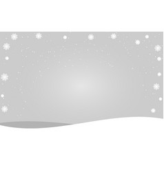 merry christmas lettering design with white vector image