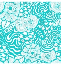 seamless abstract hand-drawn pattern design vector image