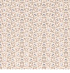 Clean Vintage Seamless Pattern Oriental Style vector image