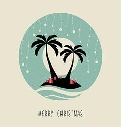 merry christmas 3123 vector image