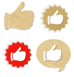 Set Best Choice Icon vector image