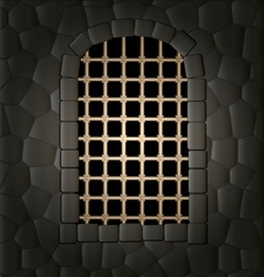 window and lattice vector image vector image