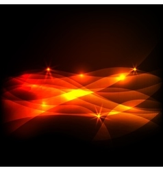 Dark Colorful light effect vector image
