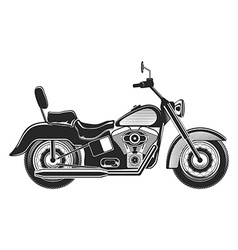 Motorcycle Silhouette Illlustration vector image