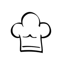 Chef hat symbol vector image
