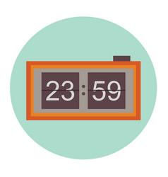 alarm clock 05 vector image