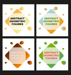 creative abstract geometric background with vector image