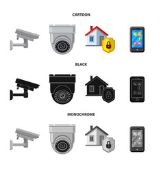 Design office and house icon collection vector