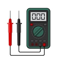 Digital multimeter Electrical Measuring vector image
