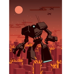 Giant Robot vector