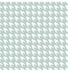 hound stooth pattern fabric seamless print vector image
