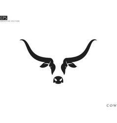 scottish highland cow vector image