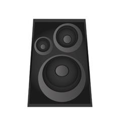 music speaker icon vector image