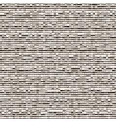 Gray background of small bricks vector image
