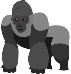 A gorilla cartoon vector