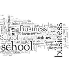 Bristol business school vector