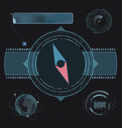 compass for navigation vector image