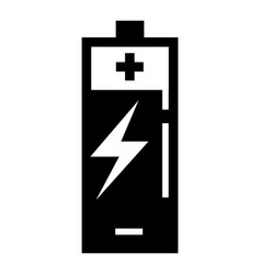 energy battery icon simple style vector image