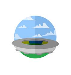 great stadium scenery vector image