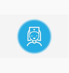 notification icon sign symbol vector image
