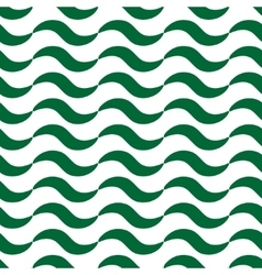 Wavy seamless pattern vector image