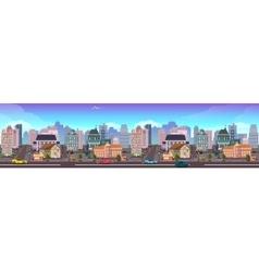 Panama City Skyscraper View Cityscape vector image vector image