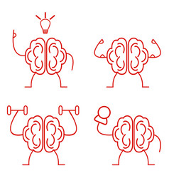 Brain power set vector