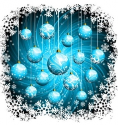 Christmas graphics vector image vector image