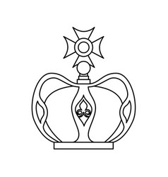 Crown of the virgin mary vector