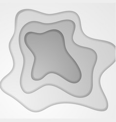 grey corporate wavy abstract background vector image