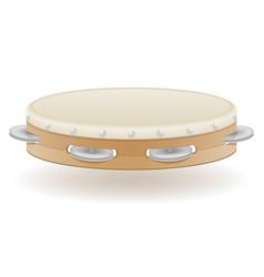 tambourine musical instruments stock vector image