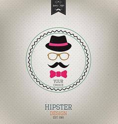 hipster design 2 vector image