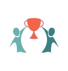 Winners icon Championship concept Logo design vector image