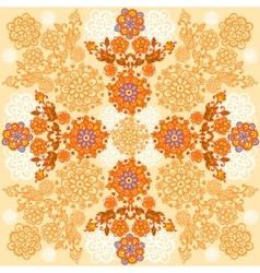 Floral background Autumn designe vector image