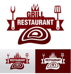 Grill graphic sign vector