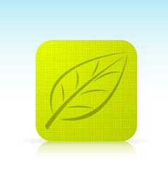 Leaf Ico vector image