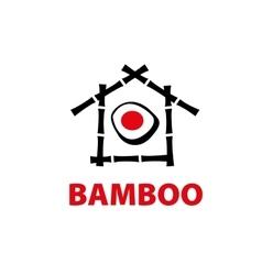 Logo bamboo vector