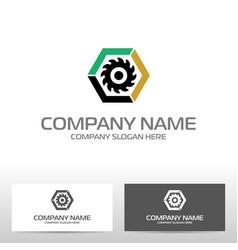 oil industry logo design vector image