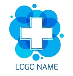 template design logo Medical vector image