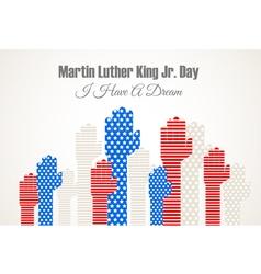 Martin Luter King vector image vector image