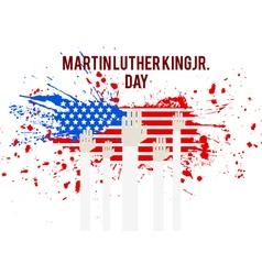 Martin Luter King vector image