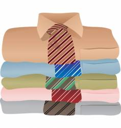 shirts illustration vector image vector image