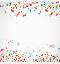 Bright colorful parti-colored abstract layout vector