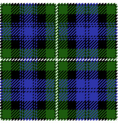 Clan campbell scottish tartan plaid seamless patte vector