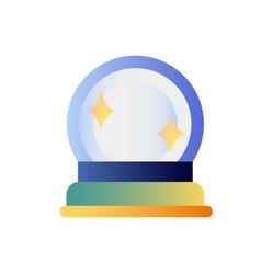 magic orb gradient vector image