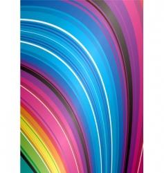 rainbow falls vector image