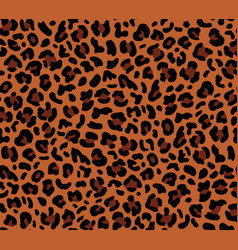 Seamless eopard pattern vector